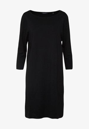 STRAIGHT - Žerzejové šaty - black