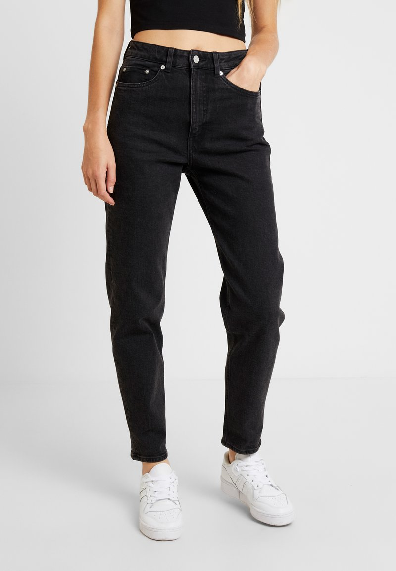 Weekday - LASH - Jeans relaxed fit - echo black