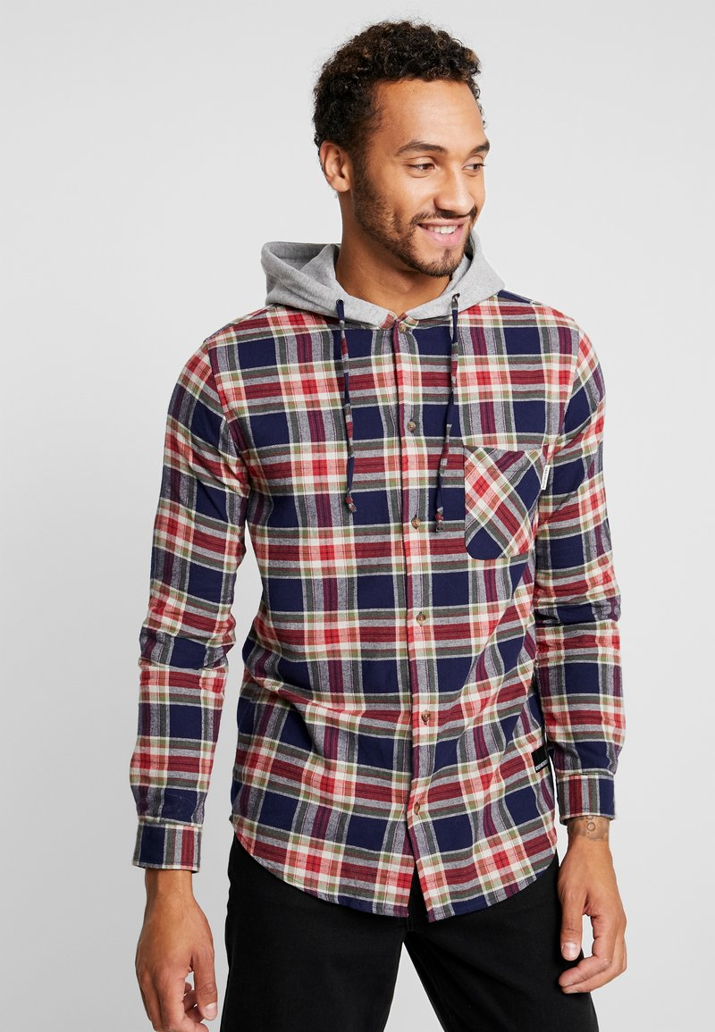 Redefined Rebel - RRCOLE - Shirt - brick red