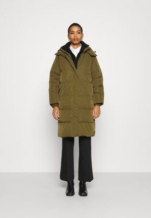 SKYLAR HOOD JACKET - Down coat - grape leaf