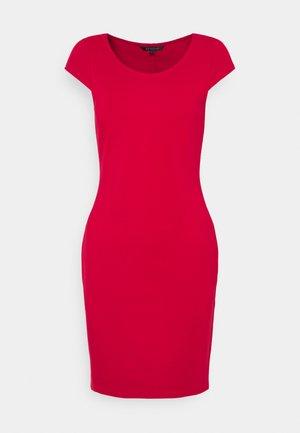 DRESS - Shift dress - red liquorice