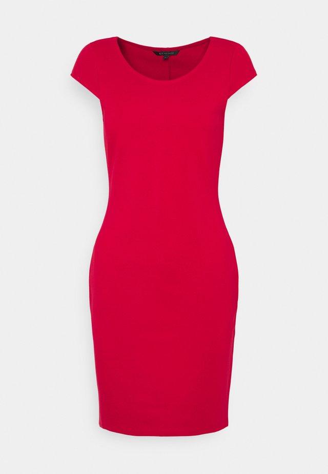 DRESS - Pouzdrové šaty - red liquorice