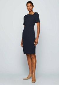 BOSS - DAKERA - Jersey dress - open blue - 1