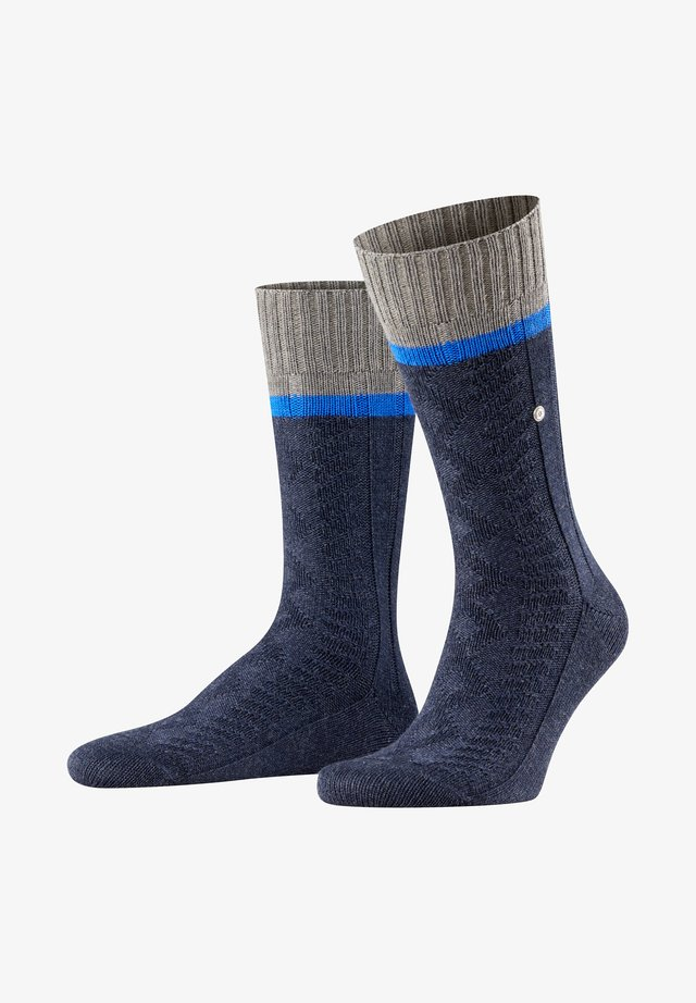 Socks - navy mel