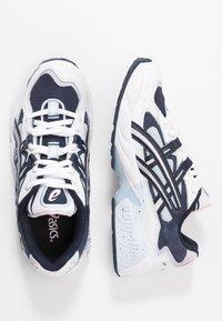 ASICS SportStyle - GEL KAYANO - Sneakers - white/midnight - 3