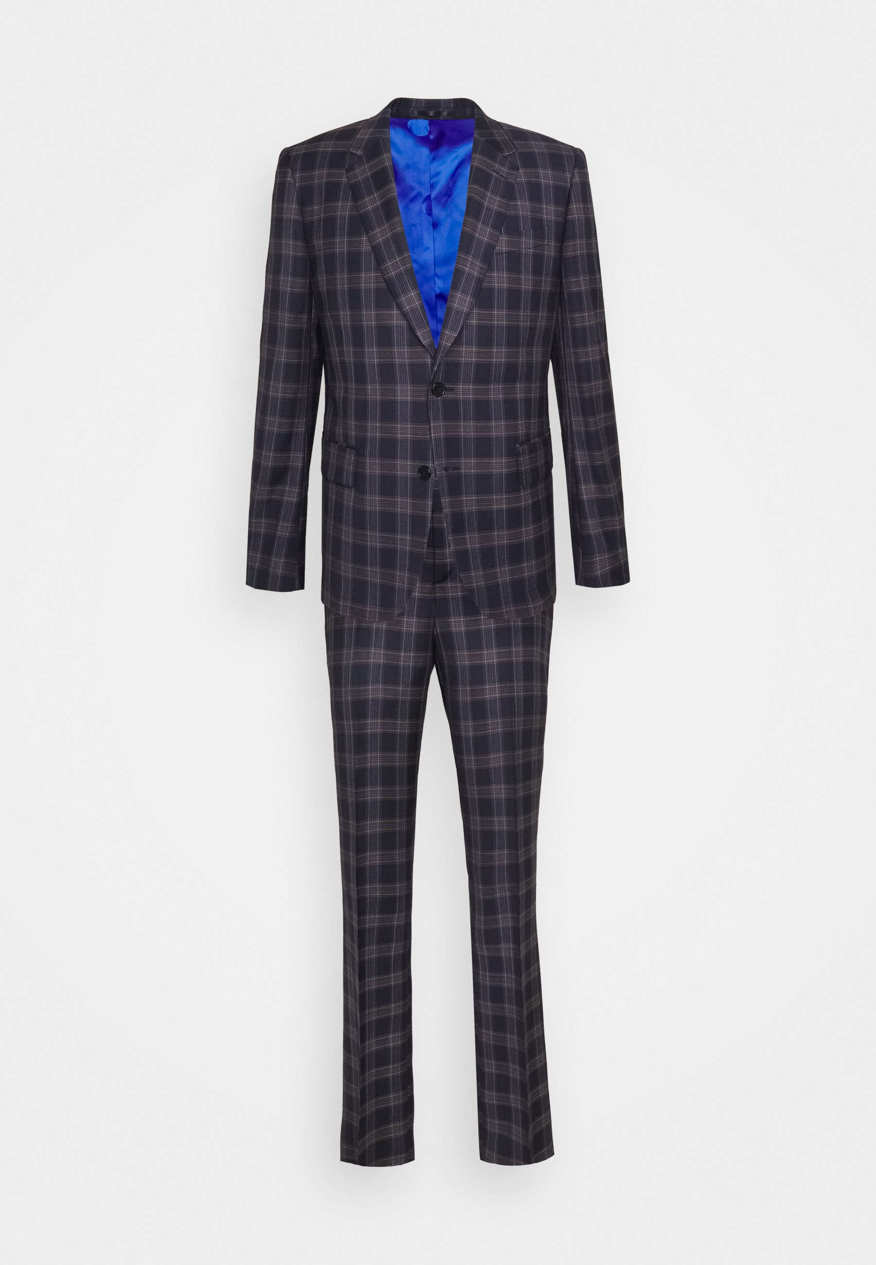 Uomo TAILORED FIT BUTTON SUIT - Completo