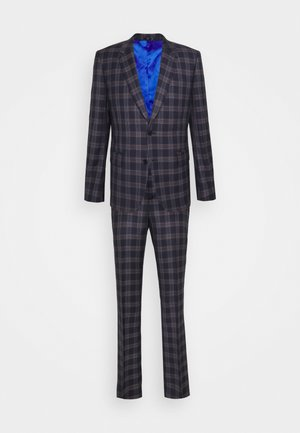 TAILORED FIT BUTTON SUIT - Costume - dark blue