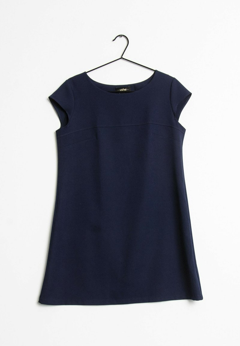 usha - Korte jurk - blue