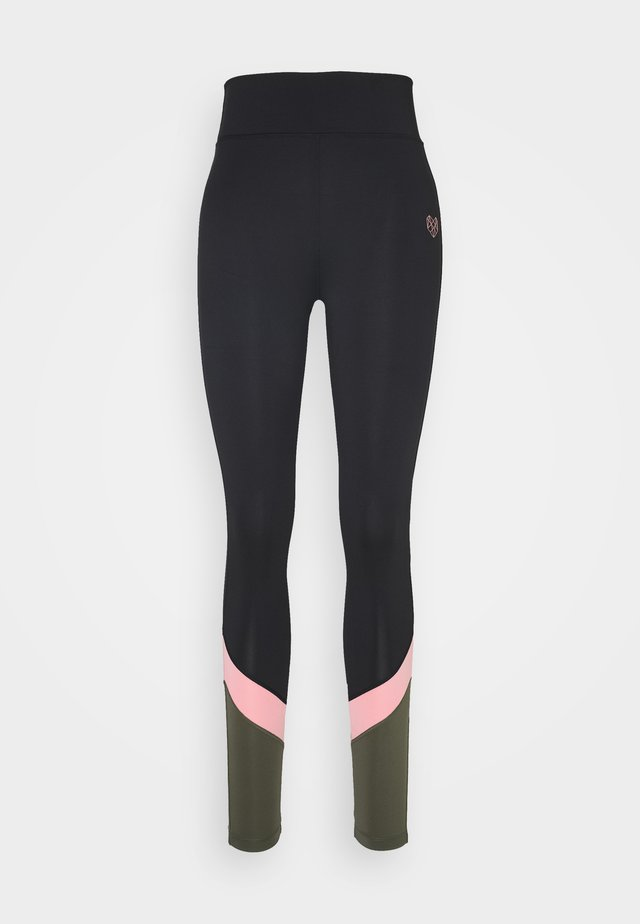 AVE PANEL - Legging - black