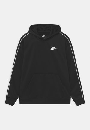 REPEAT HOODIE - Huppari - black/white