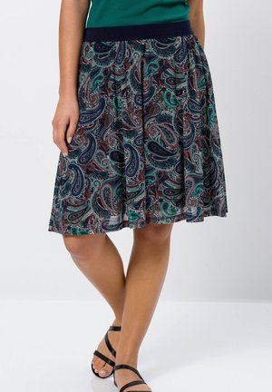 A-line skirt - desert night blue