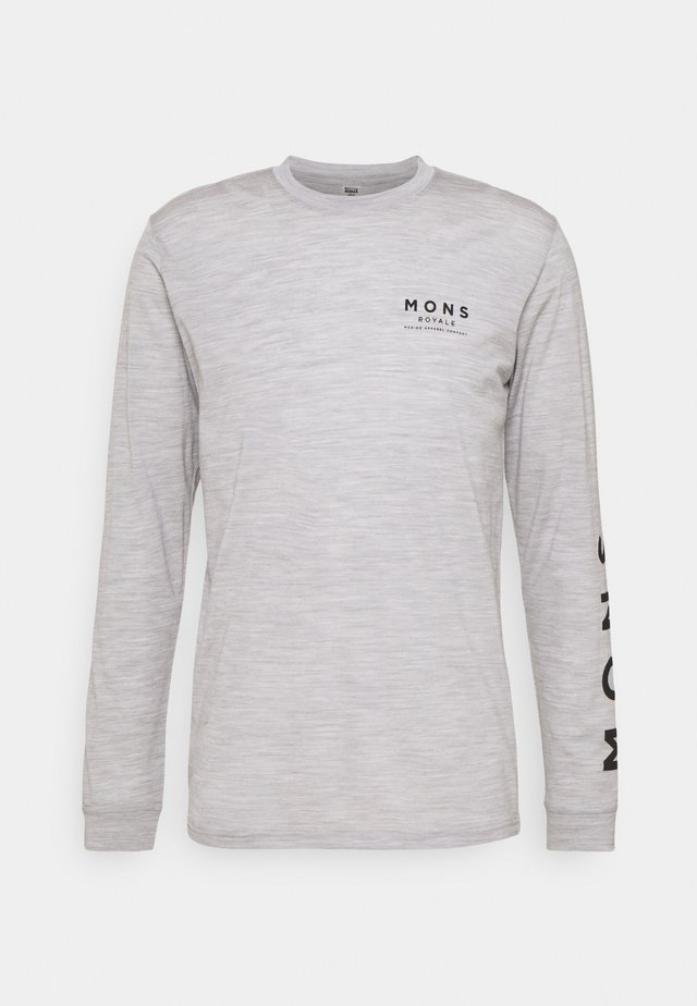 ICON - Top sdlouhým rukávem - grey marl