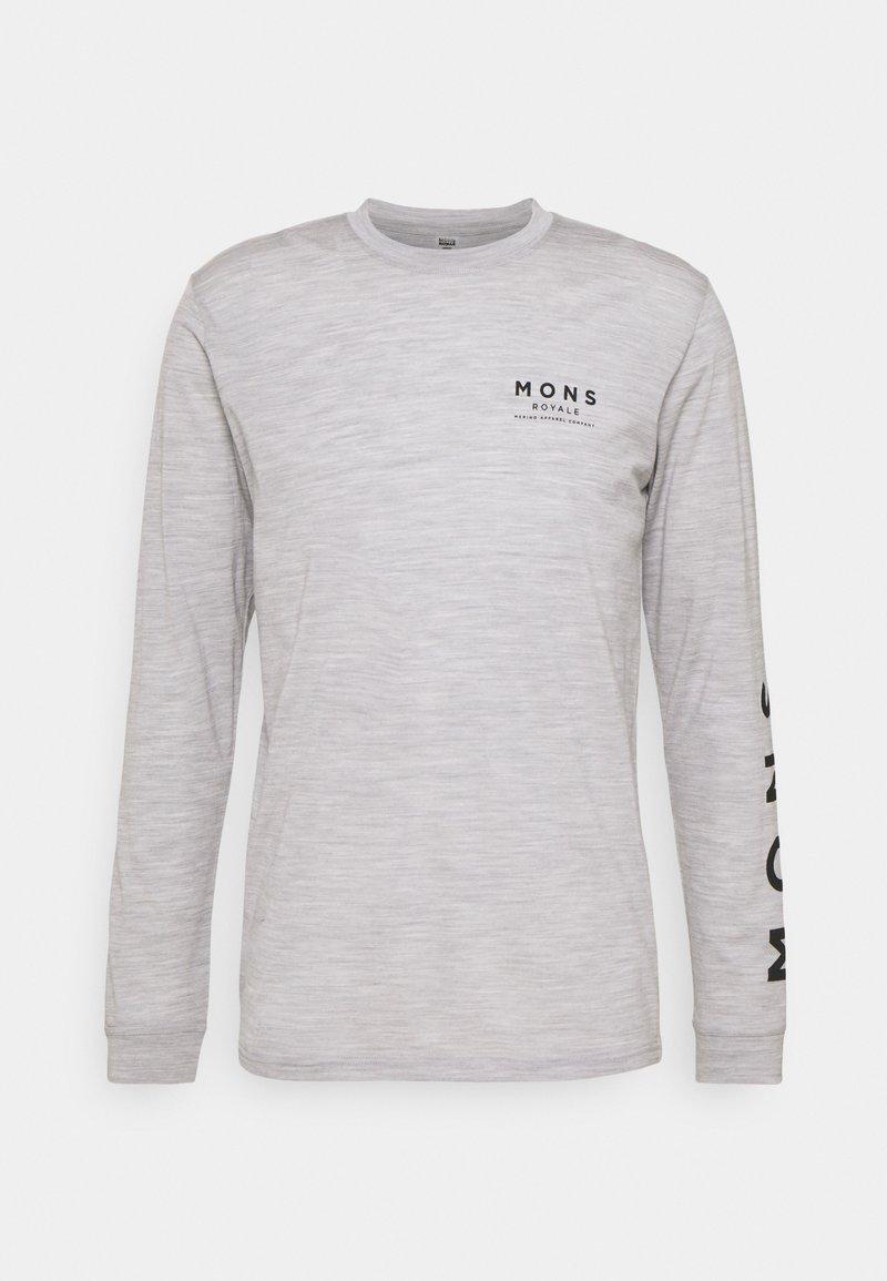 Mons Royale - ICON - Top sdlouhým rukávem - grey marl