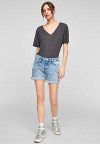 QS by s.Oliver - Denim shorts - light blue - 1
