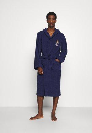 BATHROBE - Dressing gown - blue