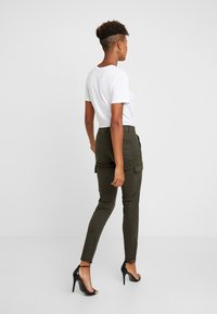 ONLY - ONLVARGO PANT - Trousers - forest night - 2