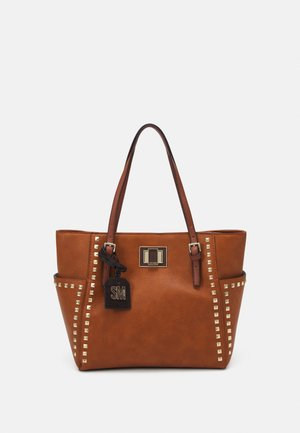BLIZZI - Handbag - cognac
