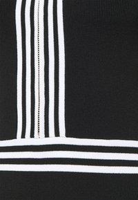 Morgan - Shift dress - noir/off white - 5