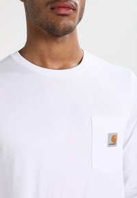 Carhartt WIP - POCKET  - Long sleeved top - white - 3