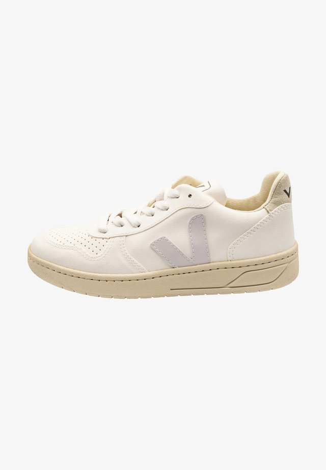Sneakers laag - white white natural