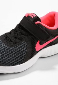 Nike Performance - REVOLUTION 4 - Neutral running shoes - black/white/racer pink - 5