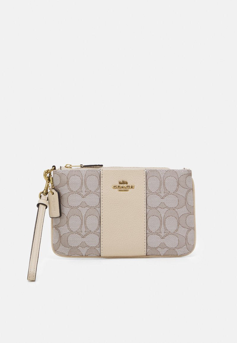 Coach - SIGNATURE SMALL WRISTLET - Wallet - stone ivory