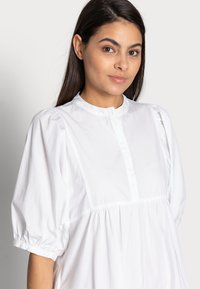 esmé studios - ESFLORA DRESS - Shirt dress - white - 3