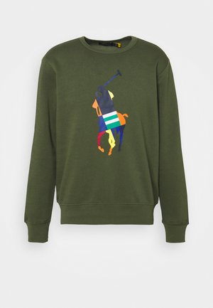 BIG PONY FLEECE SWEATSHIRT - Sweatshirt - army