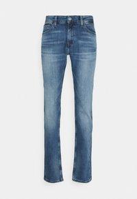 Tommy Jeans - SCANTON SLIM - Slim fit jeans - portobello mid blue comfort - 3