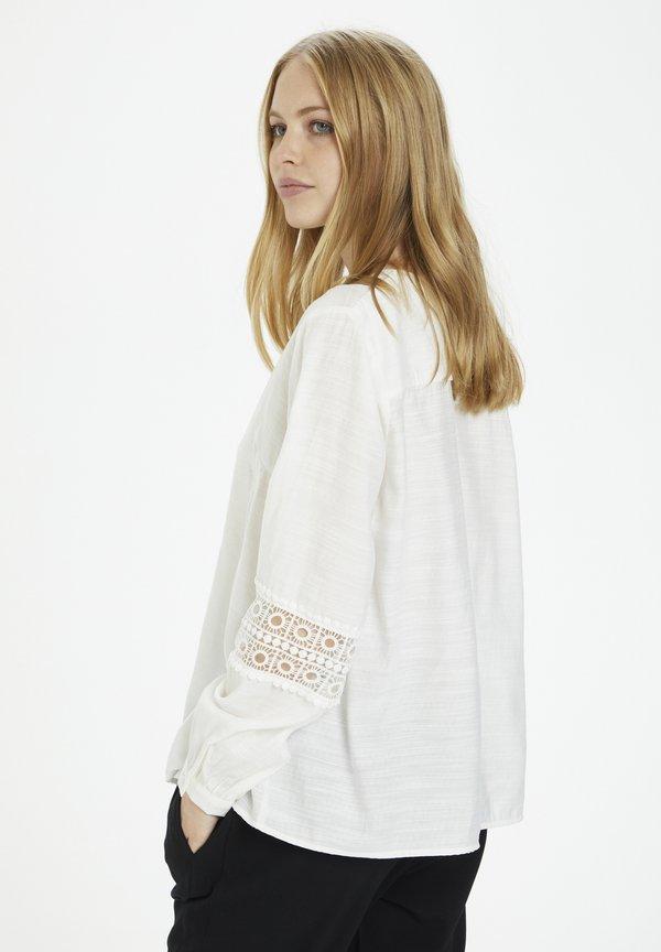 Cream AVIECR - Bluzka - snow white/biały NJCM