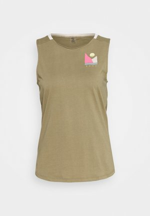 SAGA TEES - Top - covert green
