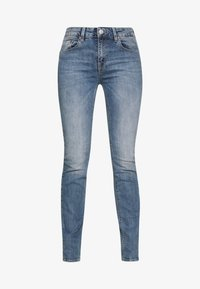 SUPER G STRAIGHT DENIM STRETCH - Straight leg jeans - surfer blue
