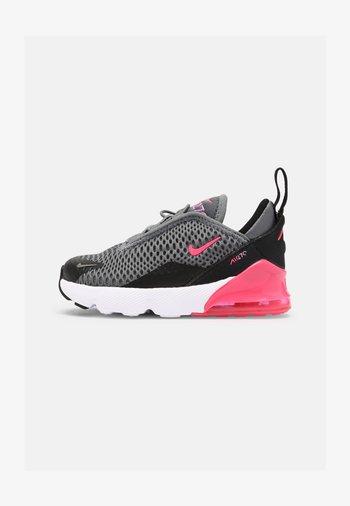 AIR MAX 270 UNISEX - Sneakers laag - smoke grey/hyper pink/black/white
