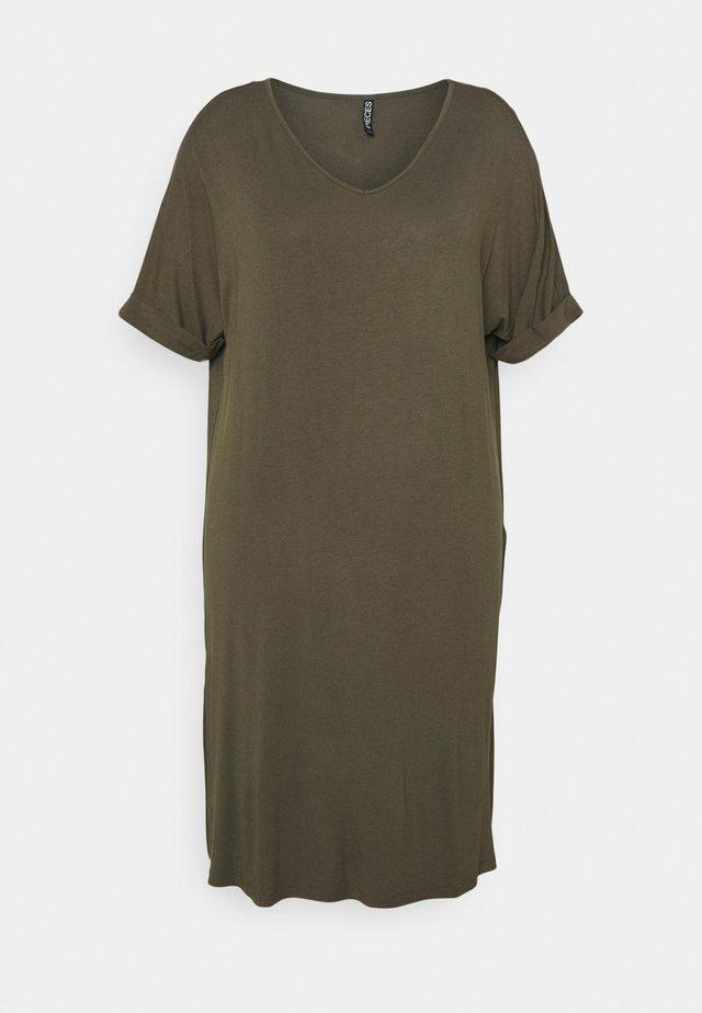 PCNEORA FOLD UP DRESS - Sukienka z dżerseju - sea turtle
