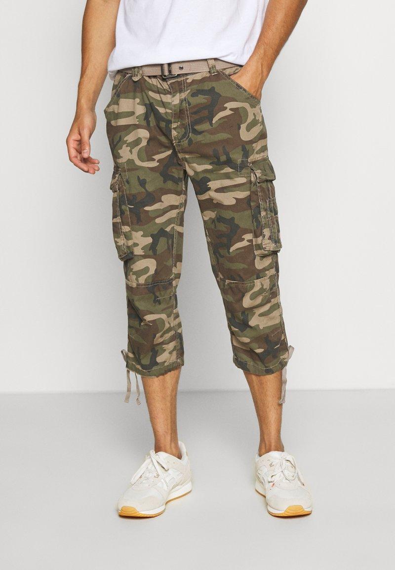 Schott - Shorts - kaki