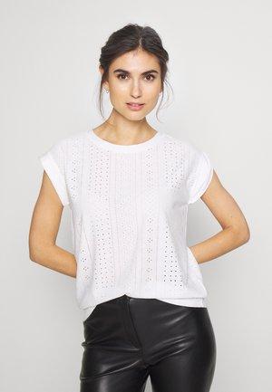BLOND TEE - Print T-shirt - off white
