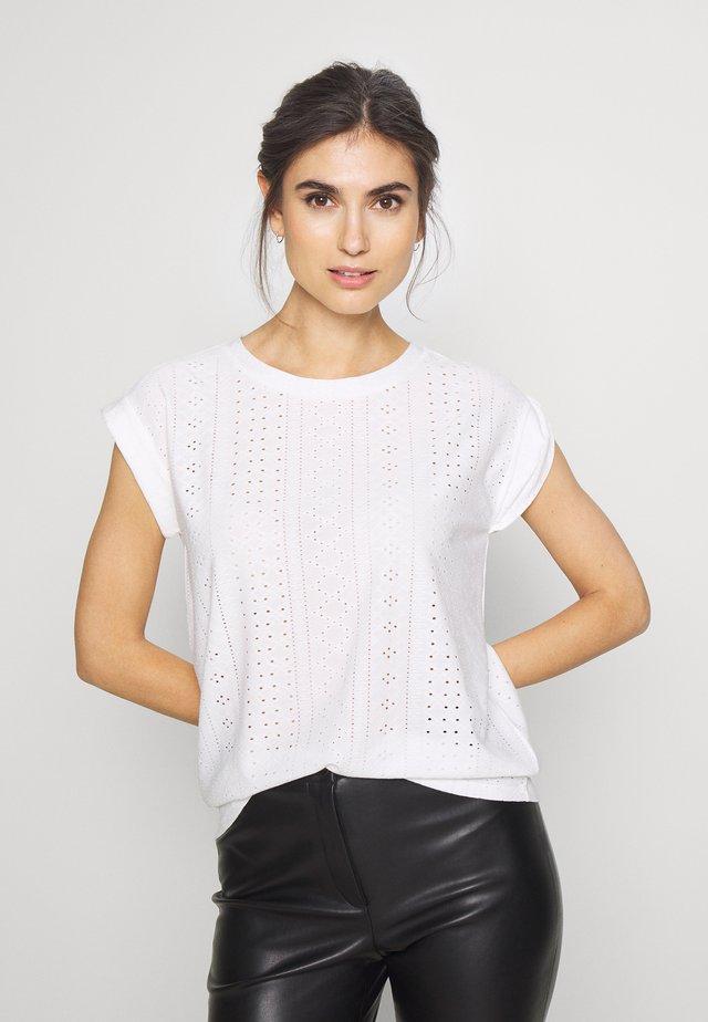 BLOND TEE - Printtipaita - off white