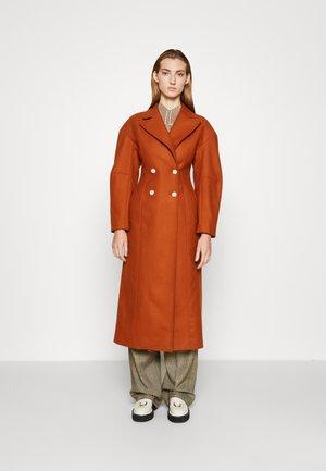 MONA - Classic coat - rust