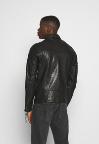 Tigha - DEACON - Leather jacket - black - 2