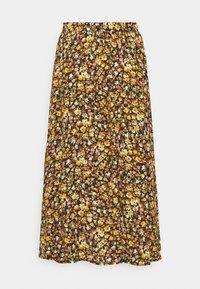 Progetto Quid - AQUILEGIA - A-line skirt - bouquet black - 1