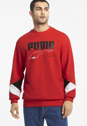 Sweatshirt - high risk red
