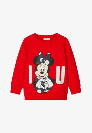 NMFMINNIE KESSIA  - Sweater - high risk red