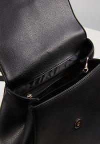 DKNY - WHITNEY FLAP BACKPACK - Plecak - black gold - 4