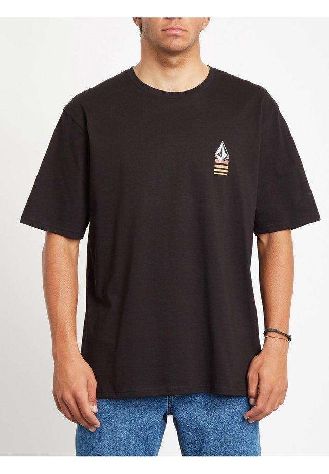 BLOXER  - T-shirt imprimé - black