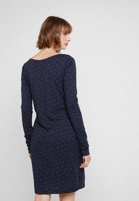 Ragwear - Jerseyklänning - navy - 2