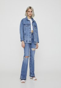 PULL&BEAR - Denim jacket - dark blue - 1