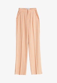 Bershka - Trousers - orange - 4