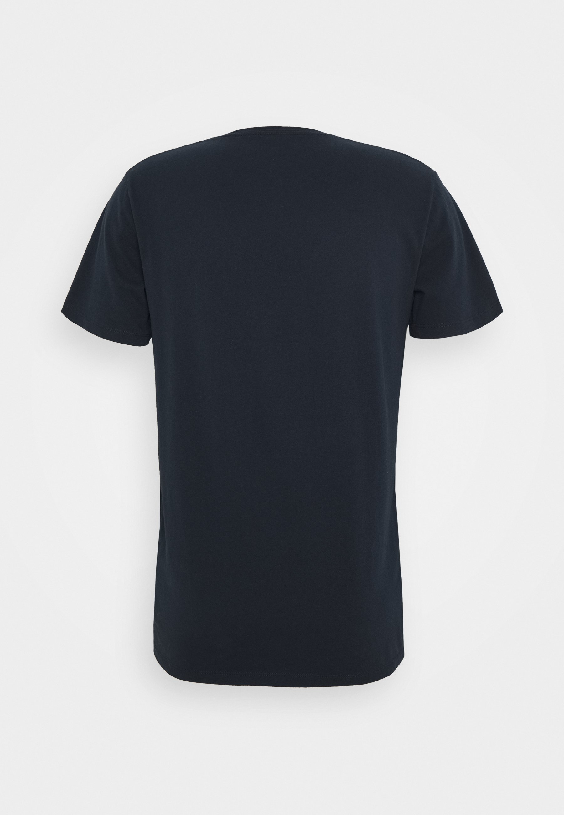Abercrombie & Fitch CREW 3 PACK  - Basic T-shirt - navy C9kEt