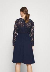 Chi Chi London - LYANA DRESS - Cocktail dress / Party dress - navy - 2