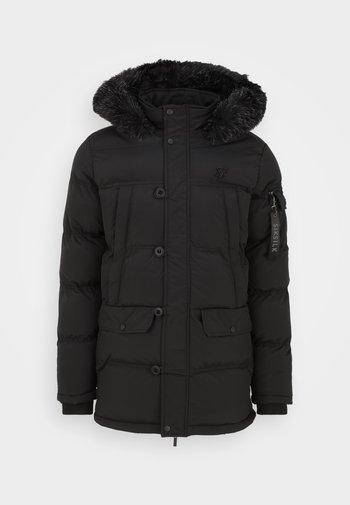 PUFF - Cappotto invernale - black
